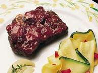 Venison with Plum Sauce