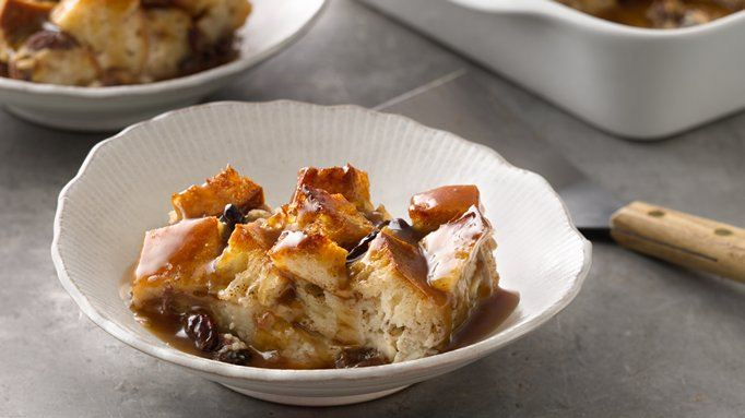 Bread Pudding with Bourbon Sauce recipe - from Tablespoon!