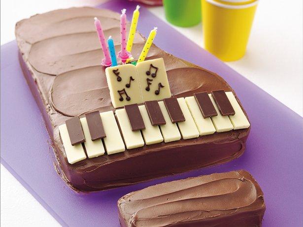 Piano Cake recipe from Betty Crocker