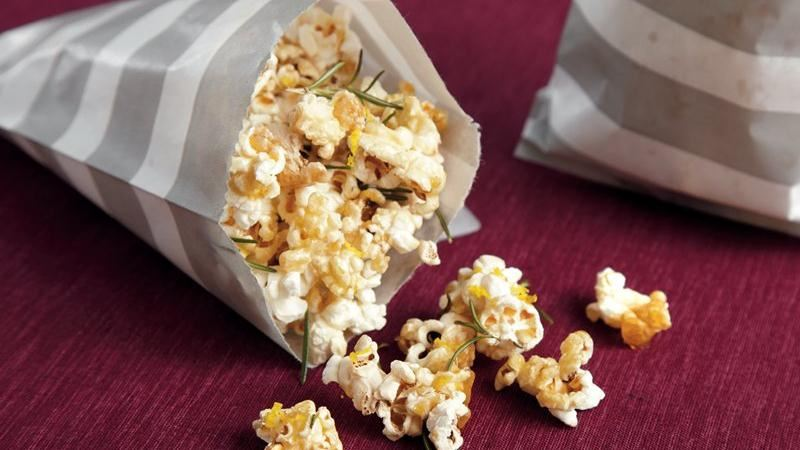 Maple Rosemary Popcorn