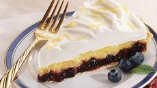 Pineapple-Blueberry Cream Tart Recipe