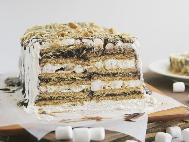 Smores Ice Box Cake