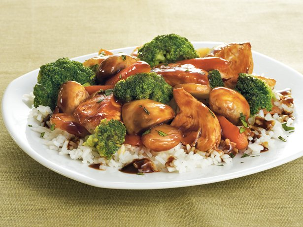 Tangerine Chicken Stir-Fry
