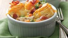 Mini Bacon Chicken Pot Pies Recipe