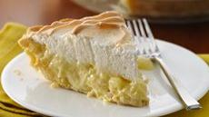 Pineapple-Sour Cream Pie Recipe