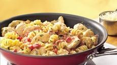 Cheesy Tomato-Chicken Skillet Recipe