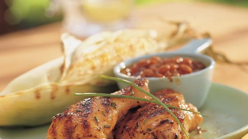 Maple-Mustard Glazed Chicken
