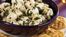 Marinated Cheese Balls Recipe