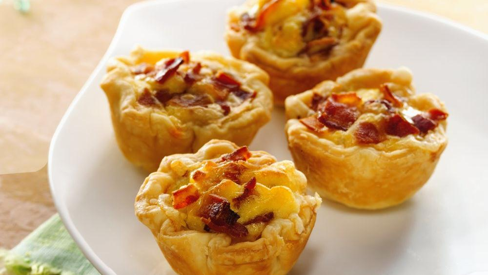 Mini Bacon-Cheese Cups recipe from Pillsbury.com