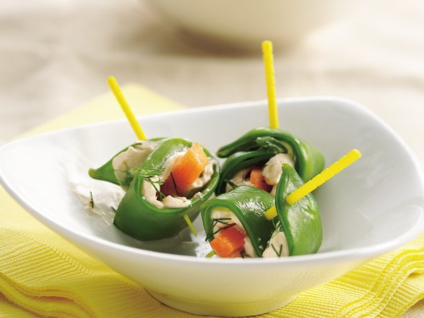 Pea Pod Roll-Ups