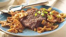 Peppered Beef with Pasta Recipe