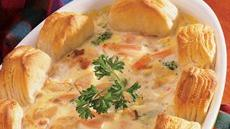 Biscuit-Easy Turkey Pot Pie Recipe