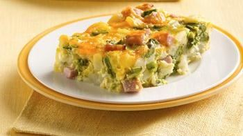 Asparagus-Potato Brunch Bake