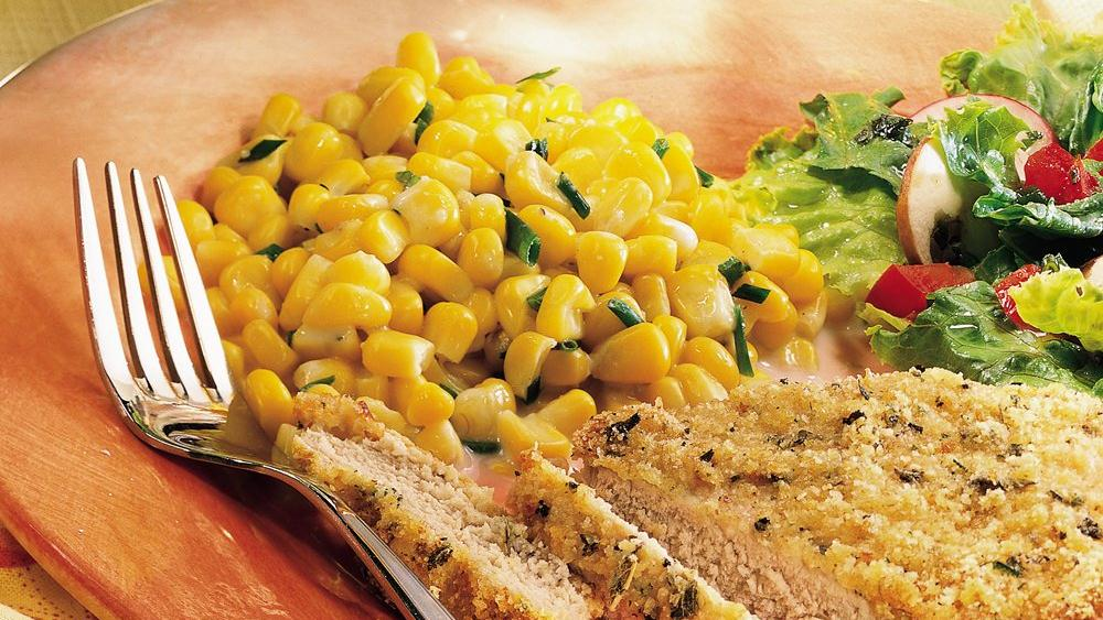 Creamy Corn with Chives