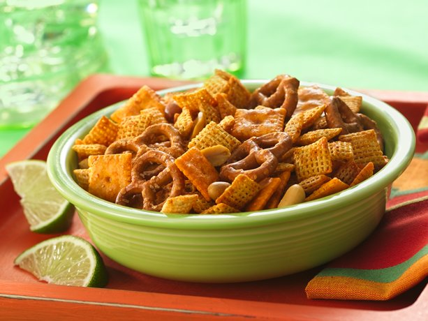 Taco-Seasoned Chex Mix (1/2 Recipe)