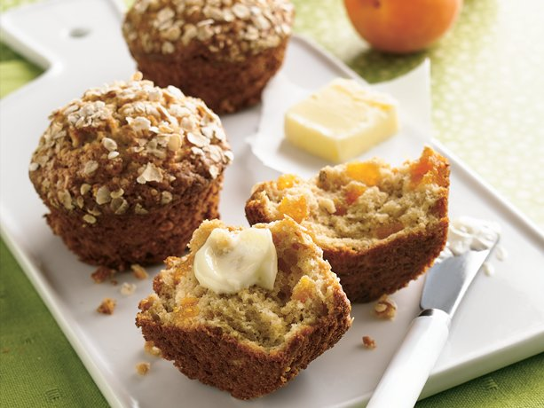 Image of Apricot-oatmeal Muffins, Betty Crocker