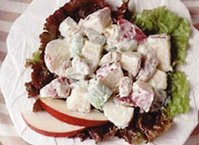 Waldorf Salad (lighter recipe)