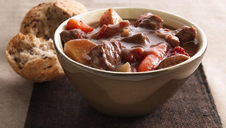 Beef Stew with Shiitake Mushrooms