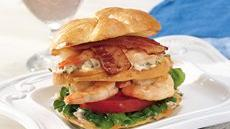 Grilled Shrimp Club Sandwiches Recipe