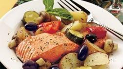 Roast Salmon Provençal