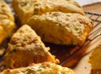 Cheddar-Cornmeal Scones