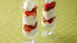 Key Lime Strawberry Parfaits
