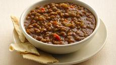 Slow Cooker Brown Lentil Soup Recipe