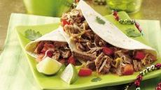 Slow Cooker Green Chile Pork Tacos Recipe