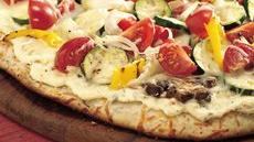 Grilled Fresh Veggie Pizza Recipe