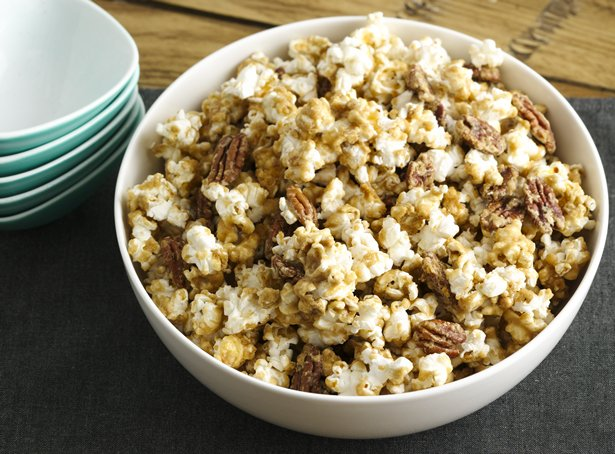Oven Caramel Corn
