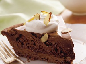 Frosty French Silk Pie