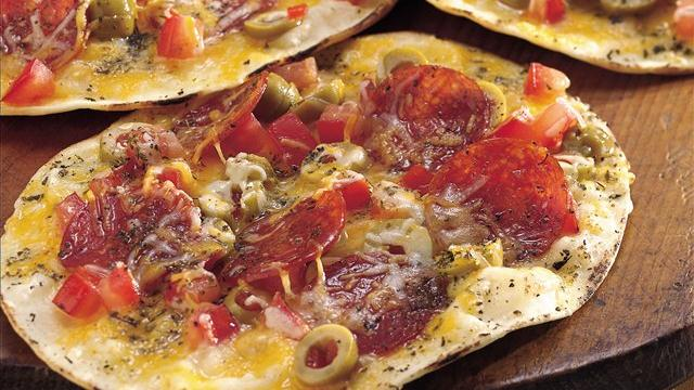 Grilled Crisp-Crust Pizzas