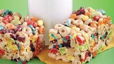 Cheerios® and Trix® Treat Bars Recipe