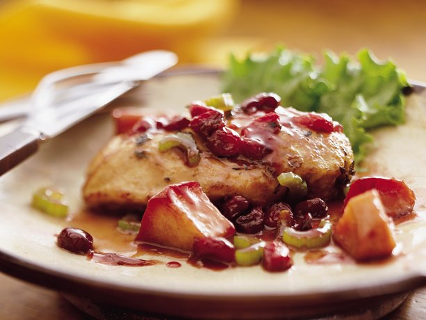 Image of Apple-cranberry-sage Chicken, Betty Crocker