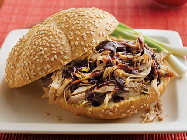 Slow Cooker Turkey Teriyaki Sandwiches