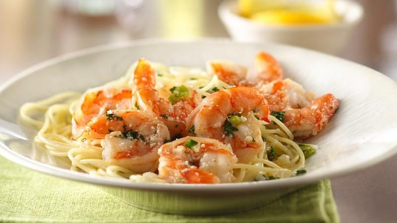 Shrimp Scampi recipe from Betty Crocker