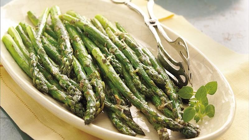 Roasted Asparagus Crusted With Parmigiano Reggiano Recipes ...