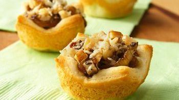 Caramelized Onion and Mushroom Tartlets