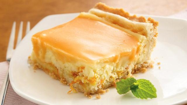 Orange Cream Dessert Squares