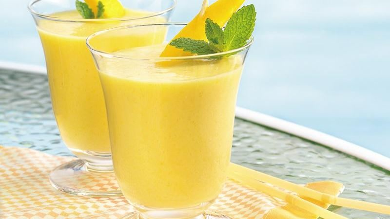 Creamy Mango Smoothies