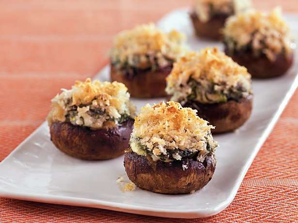 Stuffed Fungus Cups