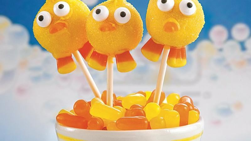Just Ducky Lemonade Cake Pops