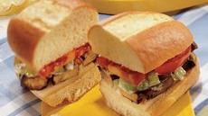 Portobello Muffuletta Sandwiches Recipe