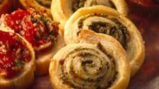 Pesto Pinwheels Recipe