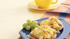 Scrambled Eggs Benedict Recipe