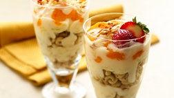 Ambrosia Breakfast Parfaits 