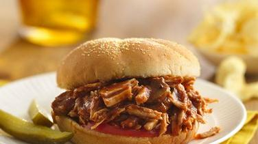 Italian Pulled-Pork Sandwiches