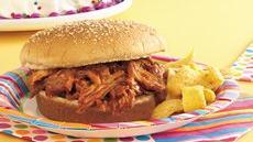 Smoky BBQ Pork Sandwiches Recipe