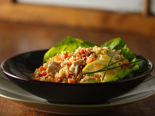 Confetti Chicken 'n Couscous Salad