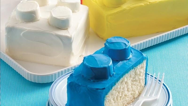 Building Blocks Cakes recipe from Betty Crocker